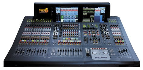 Midas PRO6 TP 56 Input Live Audio Mxing System - Touring Package PRO6/CC/TP