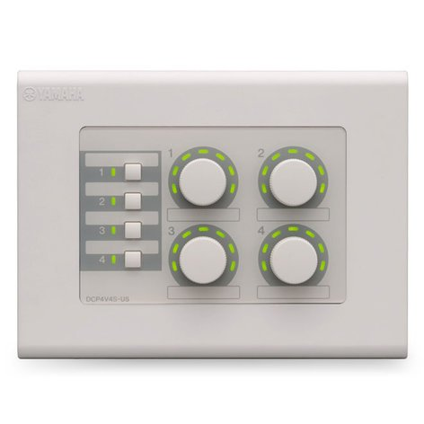 Yamaha DCP4V4S 4-Volume / 4-Switch Control Panel for MTX Series DCP4V4S