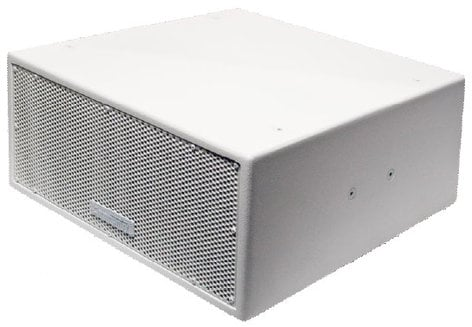 "Community VLF208LV-WI Dual 8"" Compact Install Subwoofer in White VLF208LV-WI"