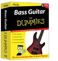 eMedia Music Corporation Bass For Dummies Bass Education Software for Windows BASS-FOR-DUMMIES-WIN