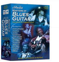 eMedia Music Corporation Master Blues Guitar Blues Guitar Lesson Software for Mac MASTER-BLUES-GTR-MAC