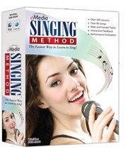 eMedia Music Corporation Singing Method Vocal Lesson Software for Mac SINGING-METHOD-MAC