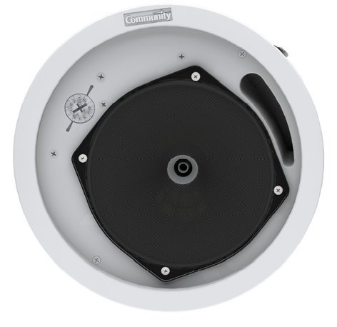 """Community C6 Commercial Series 6.5"""" 2-Way 60 Watt Ceiling Speaker with 8 Ohm or 70V Operation C6"""