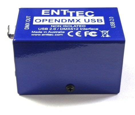 Enttec Open DMX USB Lighting Control Computer Interface for Windows 70303
