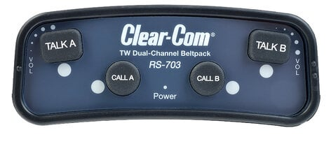 Clear-Com RS703 2-Channel Belt Pack RS703