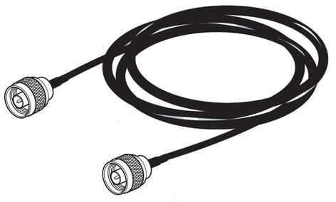 Sennheiser GZL9000-A5  16.4ft Antenna Cable with N Connector GZL9000-A5