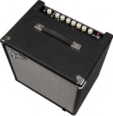 "Fender Rumble 40 40W 1x10"" Bass Combo Amplifier RUMBLE-40"