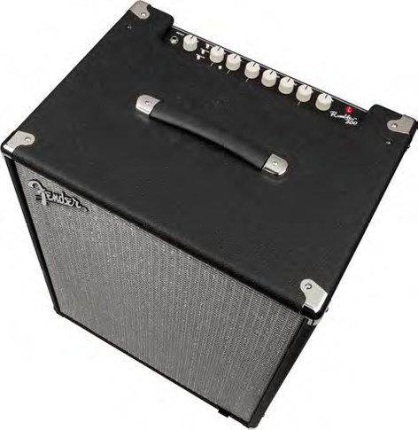 "Fender Rumble 500 500W 2x10"" Bass Combo Amplifier RUMBLE-500"
