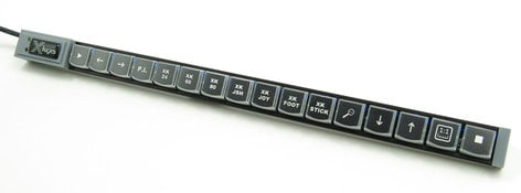 PI Engineering, Inc. X-Keys XK-16 Stick 16-Key Programmable USB Key Stick XK-0981-UCK16-R
