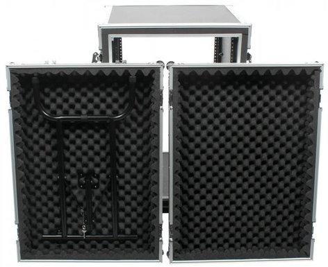 Elite Core Audio SC16U-20SL 20 RU Shock Rack with Table SC16U-20SL