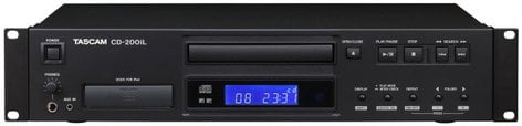 Tascam CD-200iL CD Player with 30-Pin & Lightning iPod Dock CD200IL
