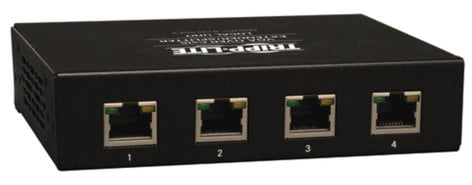 Tripp Lite B132-004-2 VGA over Cat5 Extender 4-Port Transmitter B132-004-2