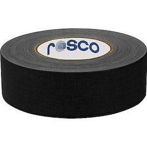 """Rosco Laboratories GaffTac 2"""" Case 24 Rolls of 48mm x 50m Gaffer's Tape GAFFTAC-2""""-CASE"""