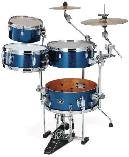 "Tama MCAX5366 Cymbal Holder for Silverstar ""Cocktail-JAM"" Kit in Indigo Sparkle Finish MCAX5366"