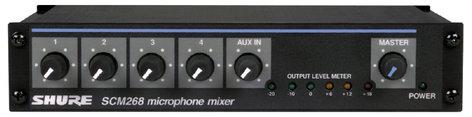 Shure SCM268 4-Channel Microphone Mixer SCM268