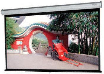 "Da-Lite 79888 78"" x 139"" Model C Matte White HDTV Manual Wall Screen with Controlled Screen Return 79888"