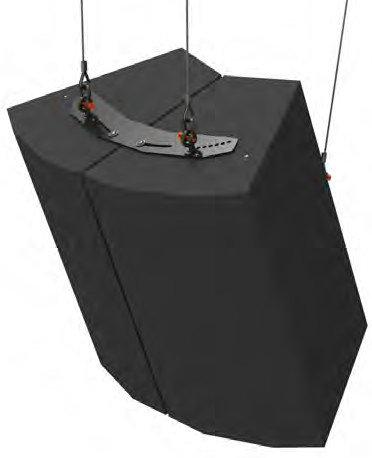 ATM/Adaptive Technologies FP-MK5-2X1-B  Cluster Pack Planar Array Kit for 2x1 EAW MK2 Loudspeakers FP-MK5-2X1-B