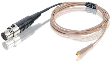 Countryman E6CABLEL1-TO E6 Earset Microphone Cable in Light Beige with 3.5mm Connector for TOA WM-370, WM-4310 E6CABLEL1-TO