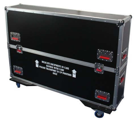 "Gator Cases G-TOUR-LCDV2-3743  ATA LCD Road Case for 37-43"" screens G-TOUR-LCDV2-3743"