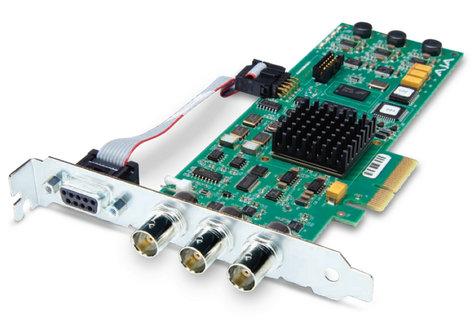 AJA Video Systems Inc CORVID PCIe 4x Card for 8/10-bit Uncompressed Digital SD - HD I/O CORVID
