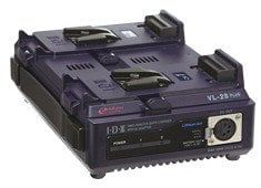 IDX Technology VL-2SPlus 2 Channel Fully Simultaneous Quick Charger with AC Power Supply Adaptor VL2SPLUS