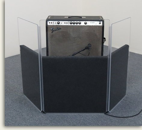 Clearsonic AP33 AmpPac 33 Amp Shield AP33