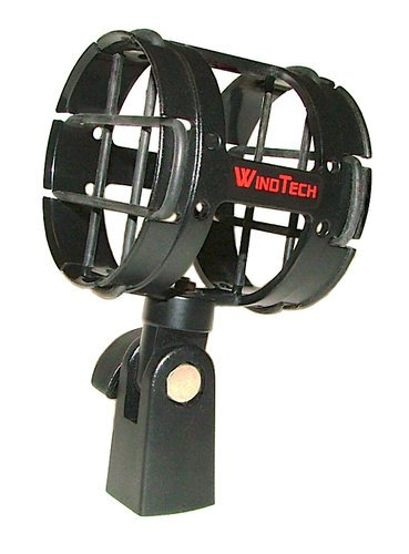 WindTech SM-4 Suspension Shock Mount for Condenser and Shotgun Microphones SM-4
