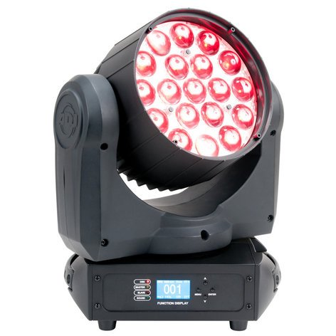 ADJ Inno Color Beam Z19 19x10W LED Moving Head Wash with Motorized Zoom INNO-COLOR-BEAM-Z19