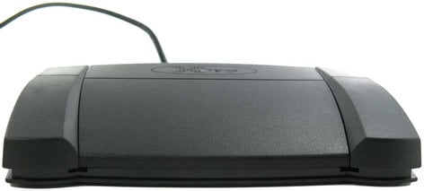 PI Engineering, Inc. X-Keys XK-3 Foot Pedal Programmable Front Hinged USB Foot Pedal XK-0985-UDP3-R