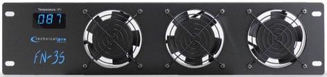 Technical Pro FN-3S 2-1/2 RU 3-Fan Cooling Unit Panel FN3S