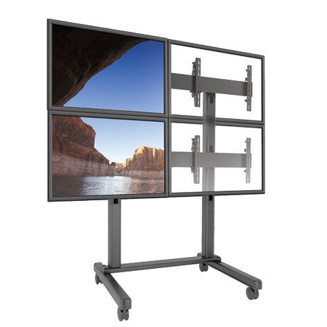 Chief Manufacturing LVM2X2U Fusion 2x2 Video Wall Cart LVM2X2U