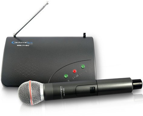 Technical Pro WM710 UHF Wireless Microphone System WM710U