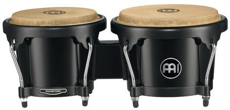 Meinl Percussion HB50BK Journey Series ABS Plastic Bongos in Black HB50BK