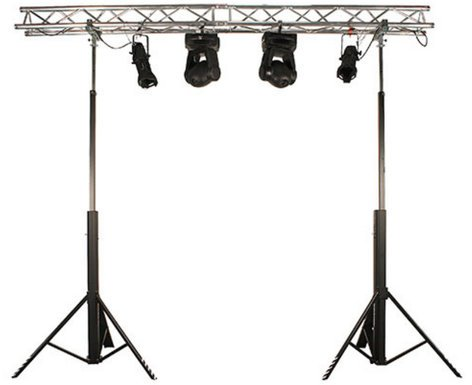 Global Truss DT-PRO4000 13ft Duratruss Crank Stand with 264lb Load Capacity DT-PRO4000