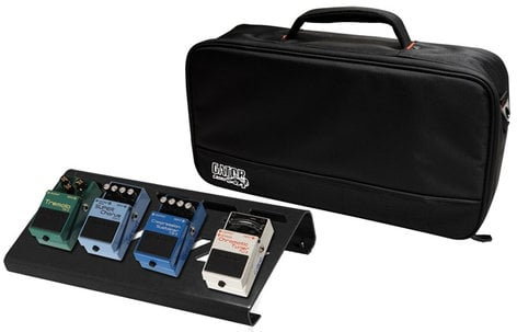Gator Cases GPB-LAK-1 Small Aluminum Pedal Board with Carry Bag GPB-LAK-1
