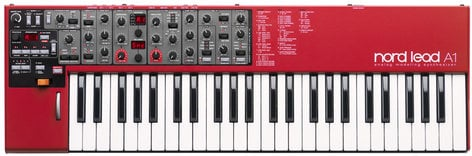 Nord USA NORD-LEAD-A1 Lead A1 49-Key 24-Voice Analog Modeling Synthesizer NORD-LEAD-A1