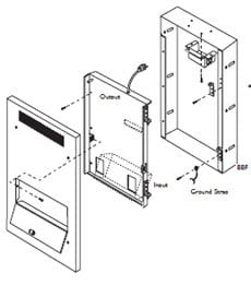 Bogen Communications Bbf Back Box For Flush Mounting BBF