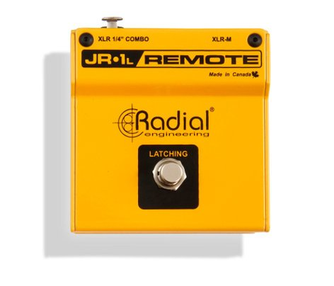 Radial Engineering JR-1L Latching Footswitch with XLR Connector JR-1L