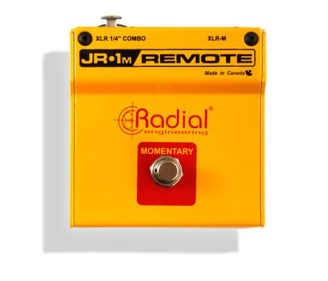 Radial Engineering JR-1M Momentary Footswitch with XLR Connectors JR-1M