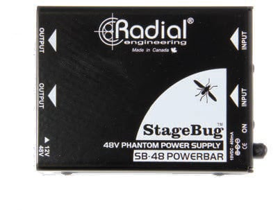 Radial Engineering SB-48  StageBug Phantom Power Supply SB-48