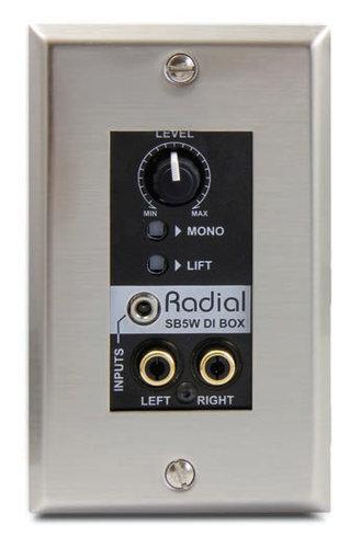 Radial Engineering SB5W Wall Mount Direct Box SB5W