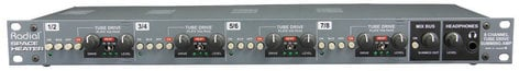 Radial Engineering SPACE-HEATER Space Heater 8-Channel Tube Summing Mixer SPACE-HEATER