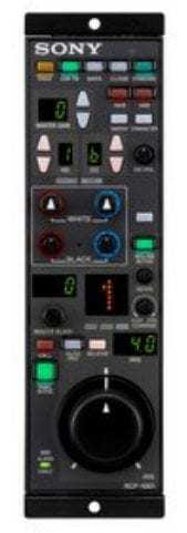 "Sony RCP-1001 Remote Control Panel ""Simple""  RCP1001"