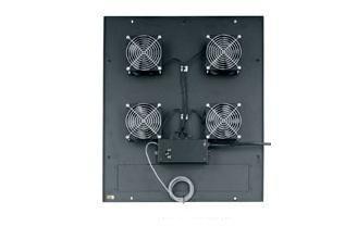 Middle Atlantic Products ERK4FT-285CFM Integrated Fan Top for ERK ERK4FT-285CFM