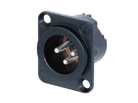 Neutrik NC3MD-LX-BAG  3-pin Male DLX Series XLR Connector NC3MD-LX-BAG