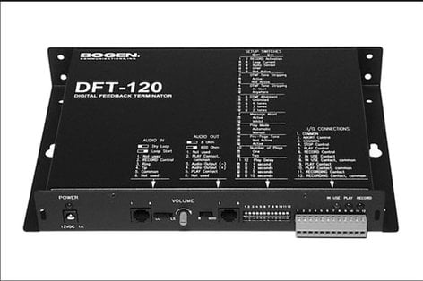 Bogen Communications DFT120  Digital Paging Feedback Terminator DFT120