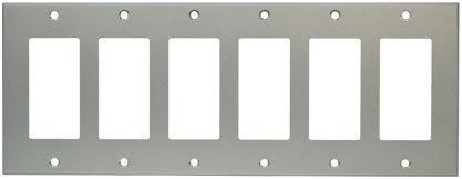RCI Custom ALOS607CL  6-Gang Oversize Wallplate ALOS607CL