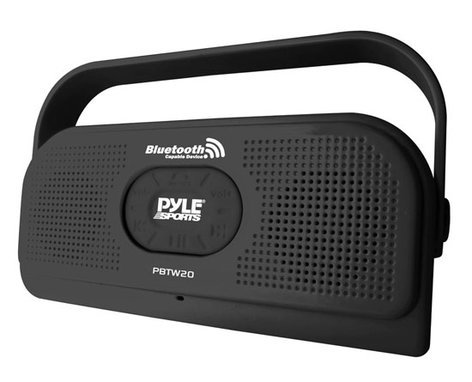 Pyle Pro PBTW20  Surf Sound Waterproof Bluetooth Speaker with Built-In Microphone PBTW20