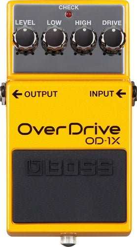 Boss OD1X Adaptive Overdrive Pedal OD1X