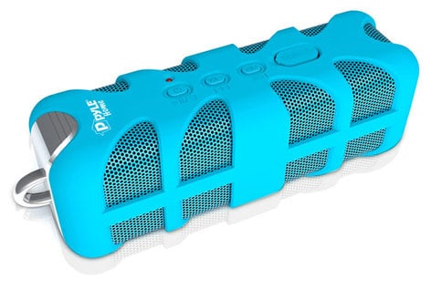 Pyle Pro PWPBT60-PYLE Sound Box Splash Bluetooth Portable Speaker PWPBT60-PYLE